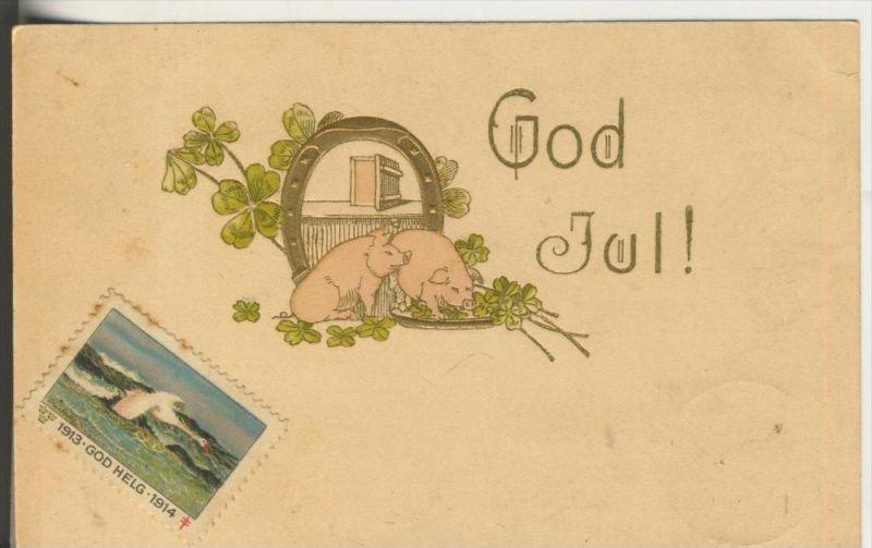 Gog Jul v. 1913  Hufeisen & Schweine (40765)