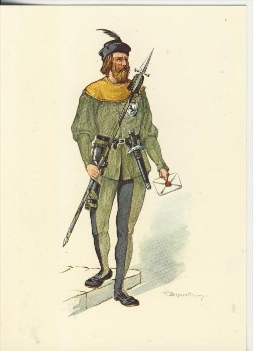 Schaffhausen v. 1988  15. Jahrhundert--Läufer von Schaffhausen  (40860)