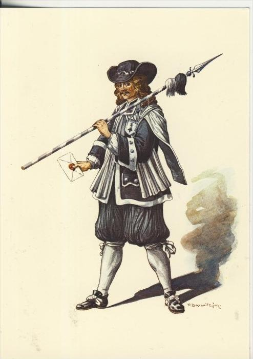 Basel v. 1988  17. Jahrhundert--Läufer von Basel  (40862)