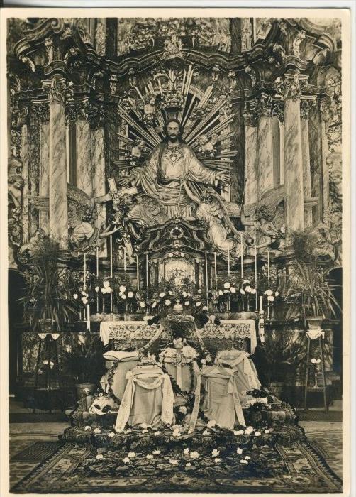 Klosterkirche Arnstein v. 1974  Der Hochaltar  (40942)