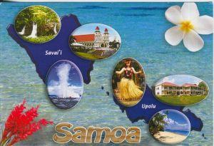 Samoa v. 1990  Insel Savaiì und Upolu  (41709)