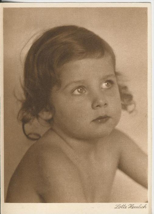 Baby und Kinderkarten v. Lotte Herrlich  aus Hamburg v. 1955  (43380)