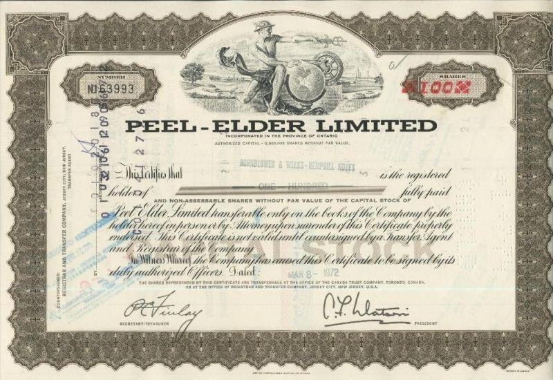 Peel - Elder Limited  (44013)