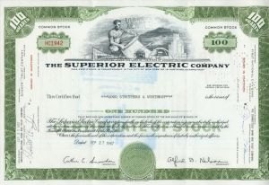 The Superior Electric Company  44030)