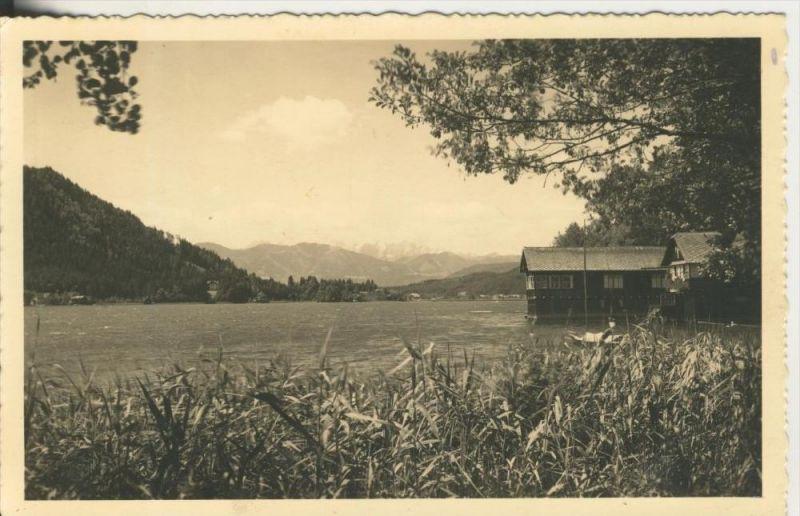 Unnenheim v. 1936  Ossiachersee mit Hütte (1208-N)