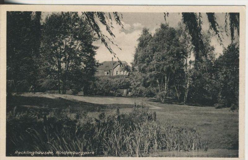Recklinghausen v. 1934  Hindenburgpark  (45334)