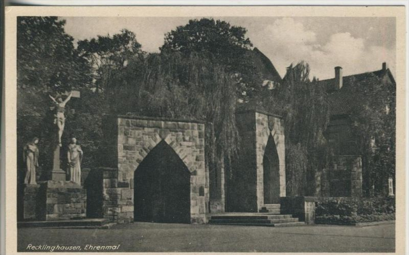 Recklinghausen v. 1934  Das Ehrenmal  (45335)