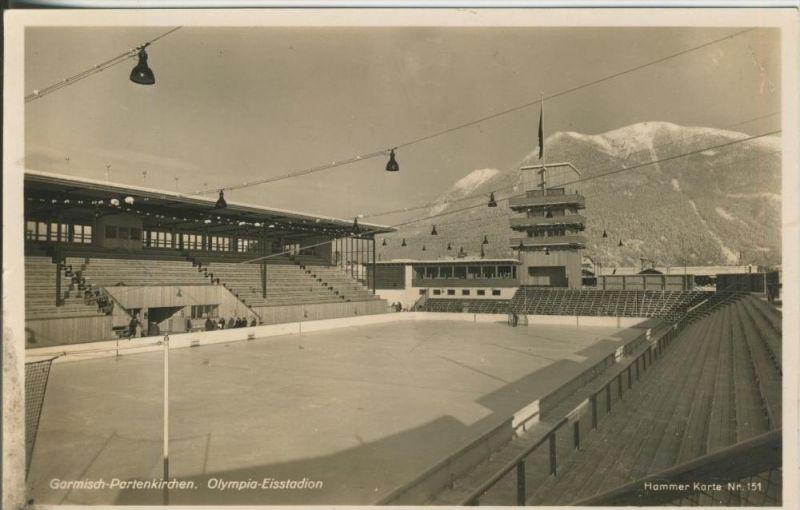Garmisch-Partenkirchen v. 1936  Olympia Eisstadion  (45357)