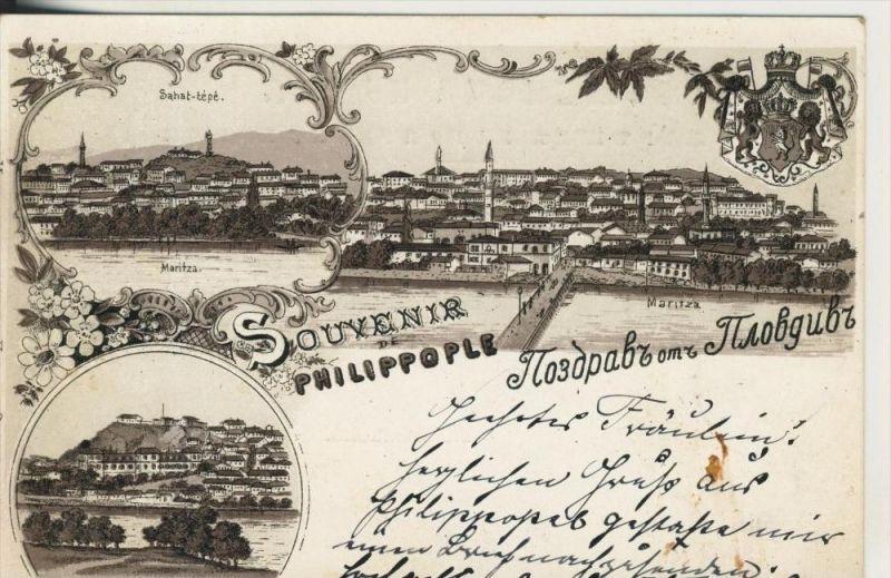 Philippople v. 1898  3 Stadtansichten  (45373)
