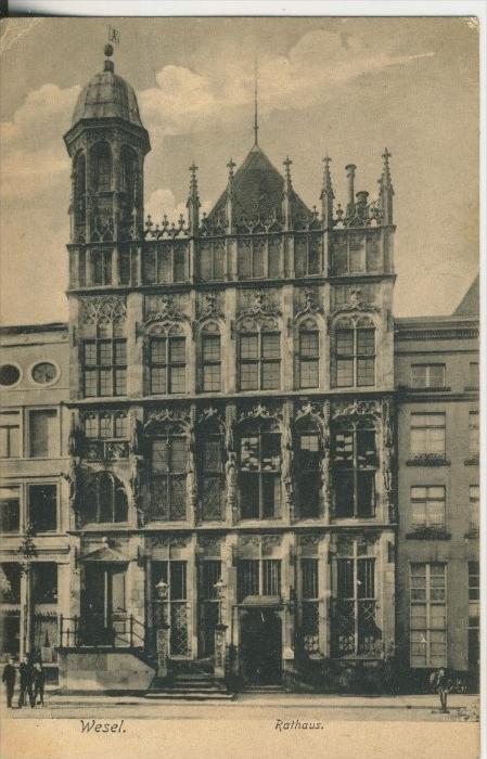 Wesel v. 1906 Das Rathaus  (45532-SH)