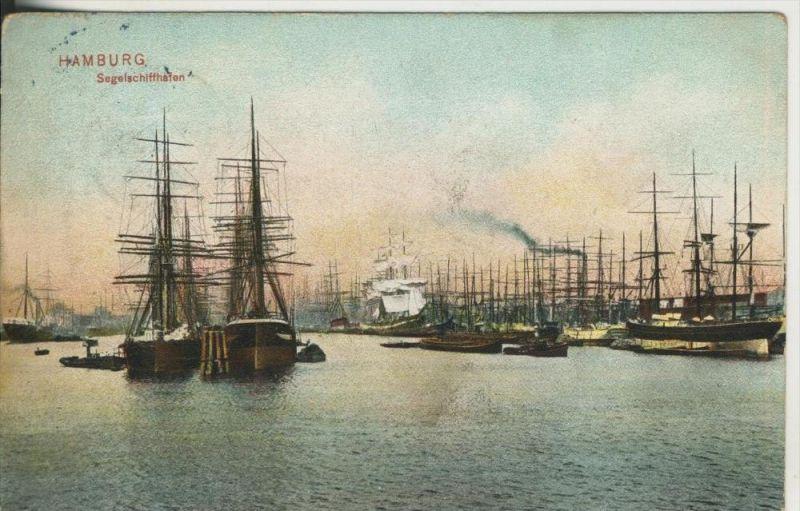 Hamburg v. 1907  Segelschiffhafen  (45535-SH)