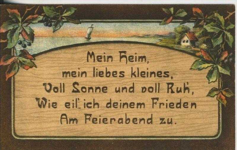Lengerich v. 1916  Mein Heim,mein liebes kleines (45488)