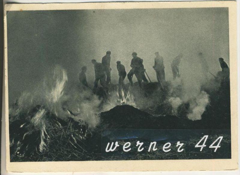 Arbeitsdienst bei einem Waldbrad v. 1939  Allzeit bereit  (1925)