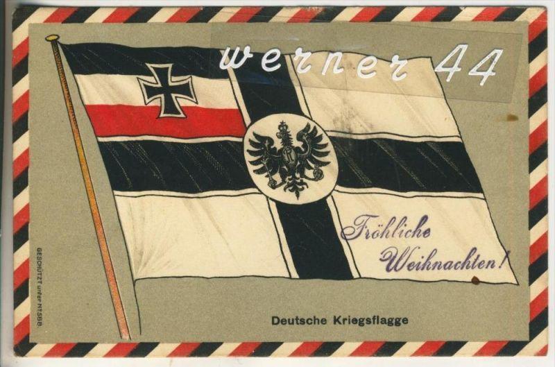 Deutsche Kriegsflagge v. 1915   (45637)
