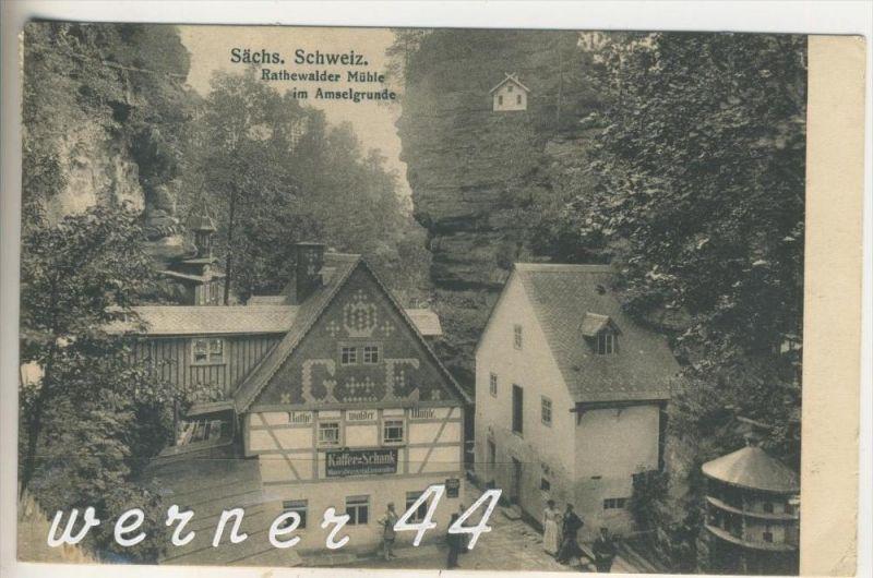 Rathewalder Mühle v. 1921 Mühle & Cafe (3237)