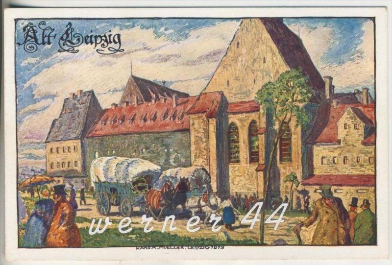Leipzig v. 1913  Offizielle Postkarte -- Intern. Baufachausstellung 1913  -- Leipzig vor 100 Jahre  (3451-10)