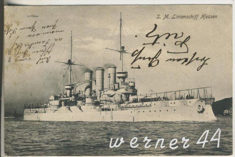 S.M. Limienschiff Hessen v. 1907 (11635)