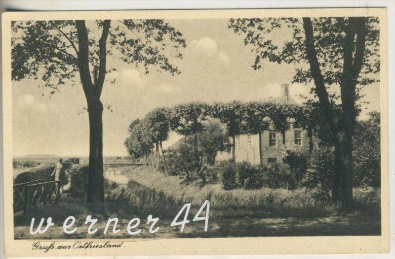 Hage v.1942 Haus und Fluß (13388)