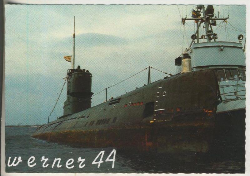 Russland v.1981 U-Boot mit einem Schiff  (13932)