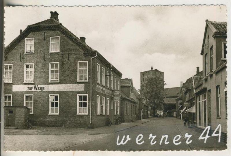 Marienhafe v.1957 Rosenstrasse mit Hotel
