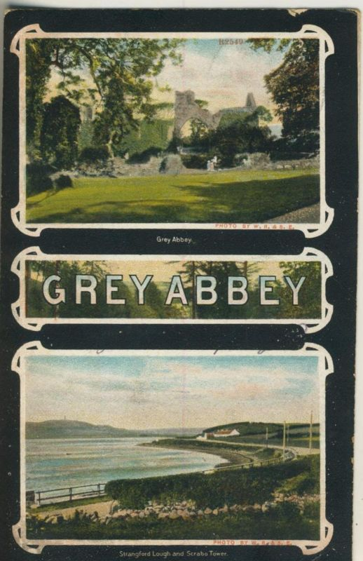 Grey Abbey v. 1906  2 Ansichten  (50961)