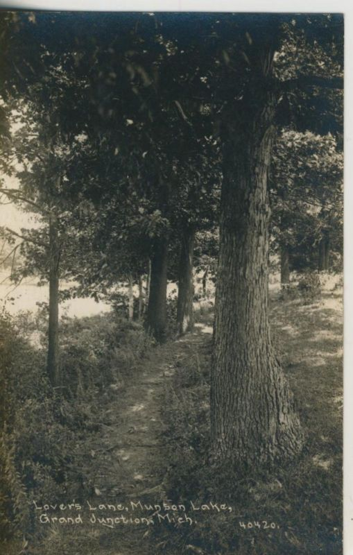 Lovers Lane, Munson Lake,Grand dunetions Mich. v. 1915 (50968)