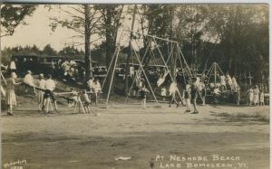 Lake Bomoseen v. 1933  Neshobe Beach  (50972)