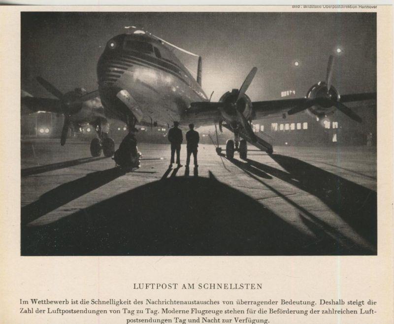 Luftpost v. 1953  Luftpost am Schnellsten  (51190)