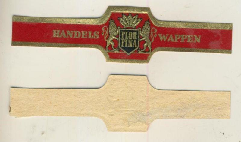 Handelswappen - Zigarrenbauchbinde - Flor Fina  (51727)
