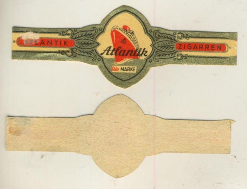 Atlantik - Zigarrenbauchbinde - Atlantik Die Marke  (51728)