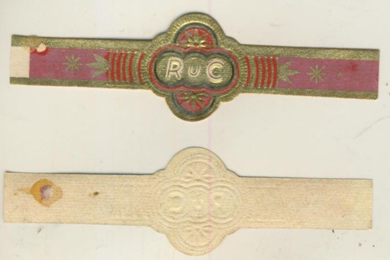 RuC - Zigarrenbauchbinde - RuC  (51729 A.)