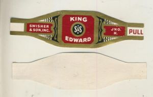 Swisher & Son.Inc. - Zigarrenbauchbinde -  King Edward  (51730)