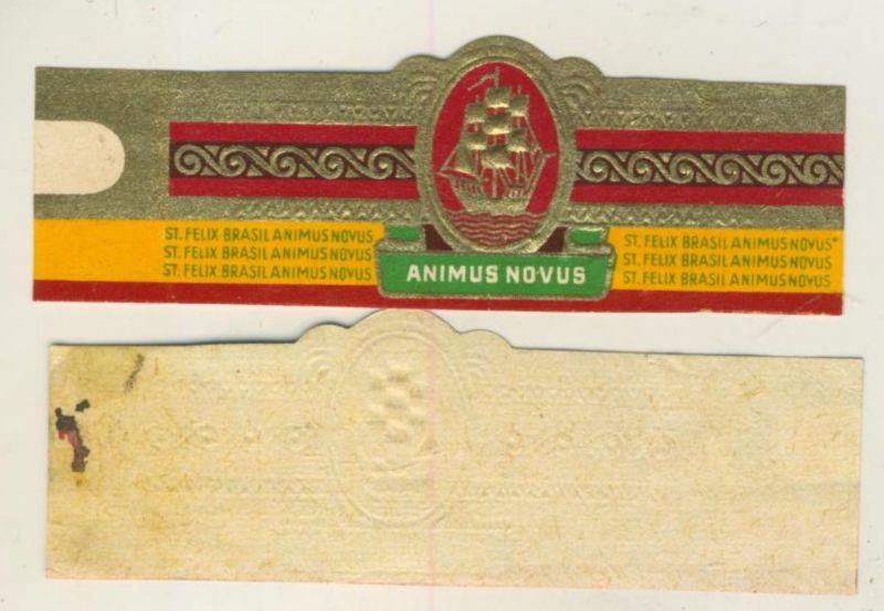 Animus Novus - Zigarrenbauchbinde - St. Felix Brasil  (51737)