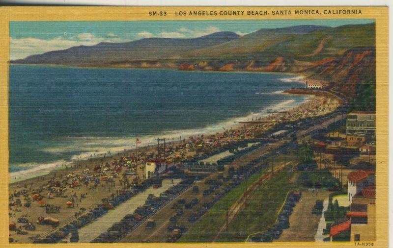 Los Angeles v. 1950  County Beach Santa Monica  (53013)