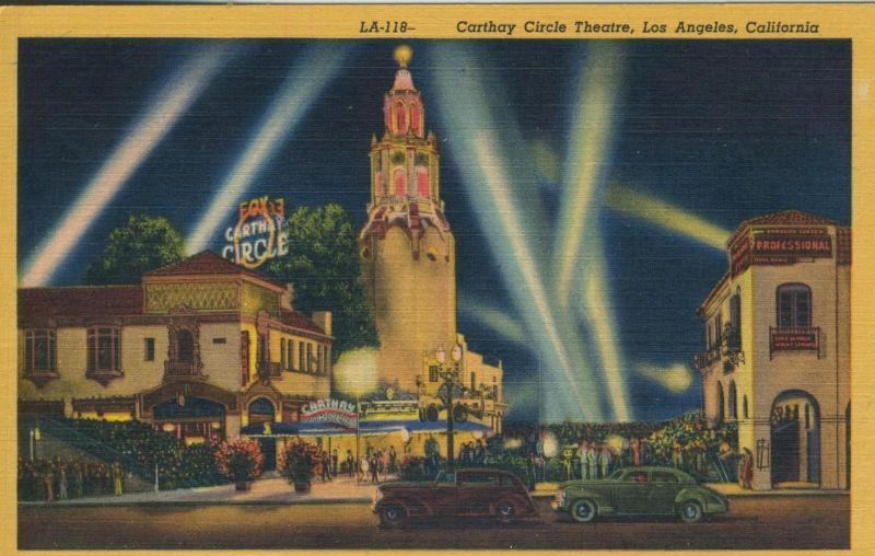 Los Angeles v. 1950  Carthay Cirle Theatre   (53024)