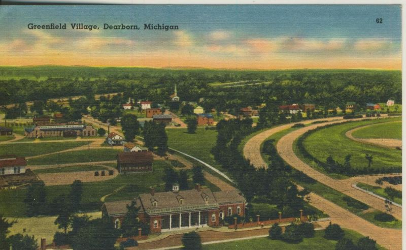 Dearborn v. 1950  Greenfield Village  (53025)