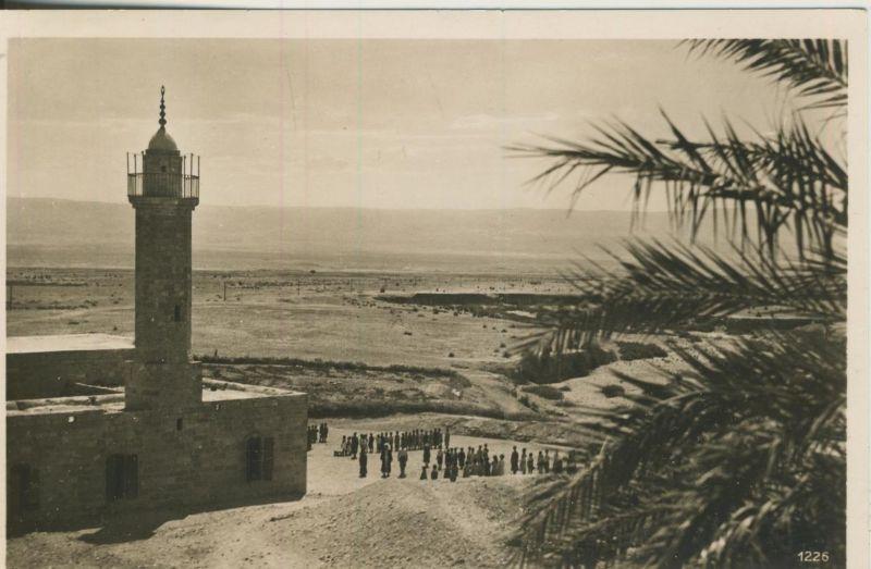 Palestina v. 1958  Blick von Jericho ins Jordantal  (53065)