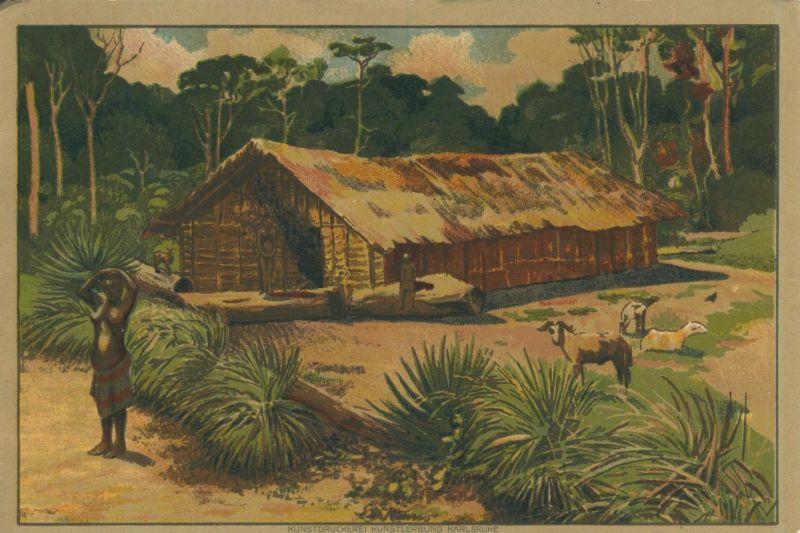Kamerun v. 1936 Haus der Bantanga-Neger - siehe Foto !! (53981-131)