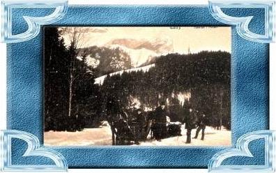 Tatry v.1910 Schlitten--- siehe Foto !!   (12097)