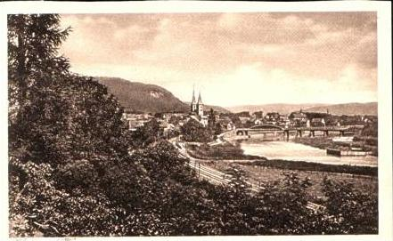 Höxter v.1934 Teil-Stadt-Ansicht .(15804)