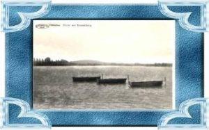 Dikkebus v.1936 Vijver met Kemmelberg (13420)