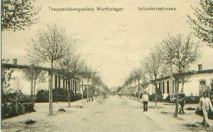 Trupp.-Warthelager v.1917 Infanteriestrasse (19187)