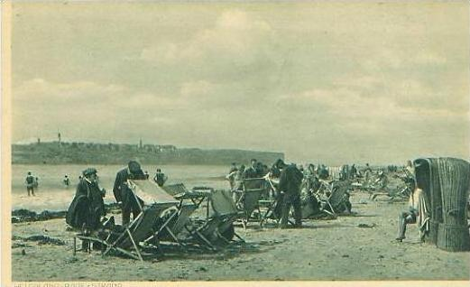 Helgoland v.1920 Badestrand a. d. Düne (19199)
