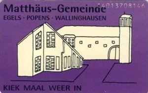 Wallinghausen - Matthäus Gemeinde (Neu 6 DM)  (1057