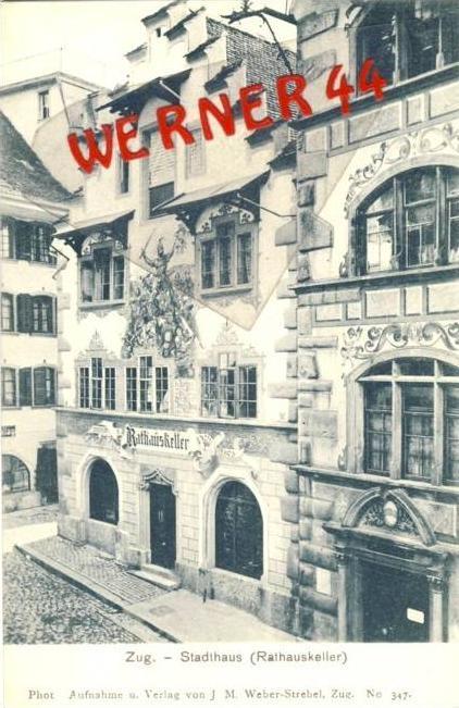 Zug v. 1914  Gaststätte Rathauskeller - siehe Foto !!  (36160)