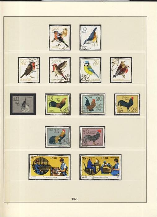 Rassegeflügel,Singvögel,F ernsprechvermittlung,  v. 1979  --  siehe Foto !!   (98)