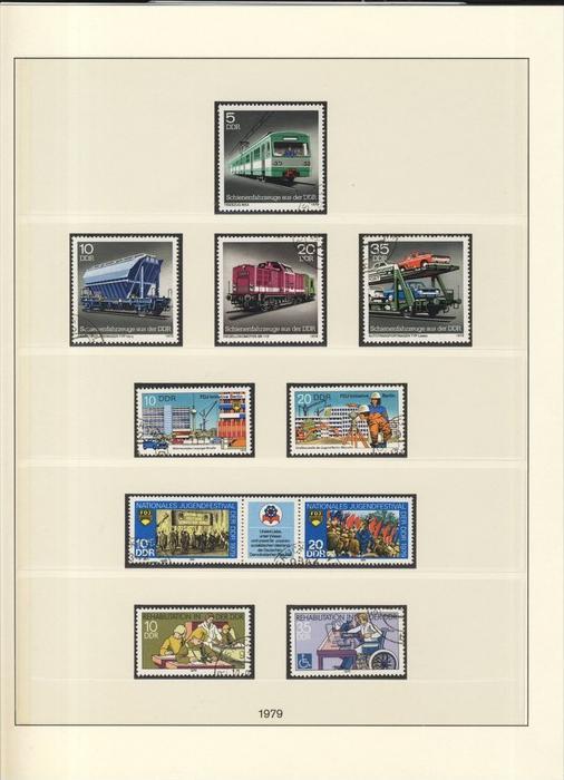 Schienenfahrzeuge,FDJ Initiative,Jugendfestival,Schwerbehinderte, v. 1979  --  siehe Foto !!   (101)