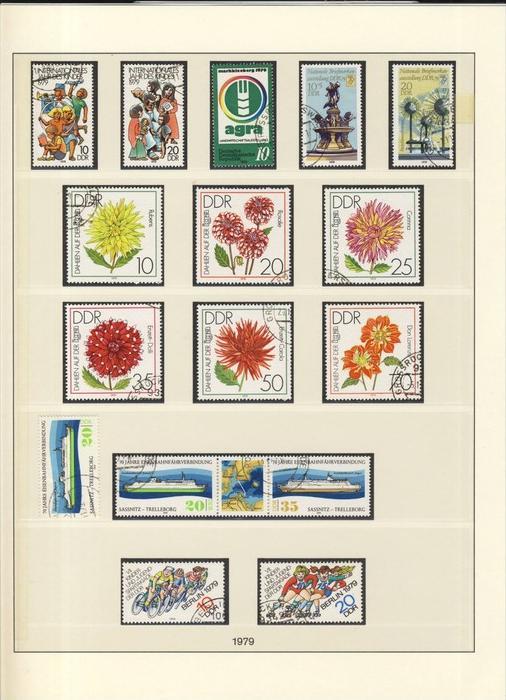Jahr des Kindes,Agra,Dahlien,Eisenbahnfährverbindung,Jugend usw. v. 1979  --  siehe Foto !!   (103)