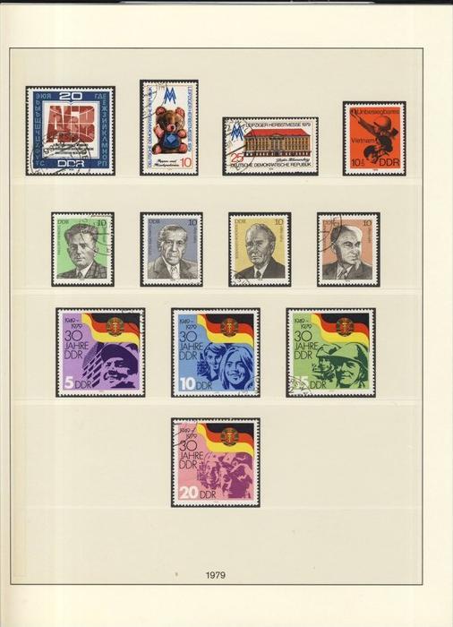 30 Jahre DDR,Arbeiterbewegung, usw.  v. 1979  --  siehe Foto !!   (104)
