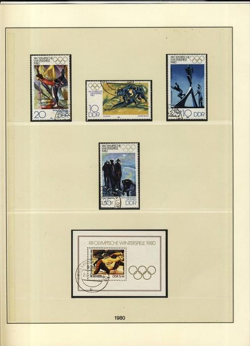 Olympische Winterspiele,Olympische Winterspiele-Block,  v. 1979  --  siehe Foto !!   (107)